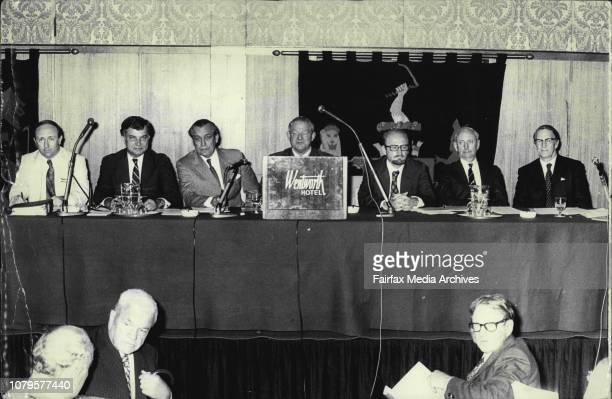 Board of Kathleen Investments Limited Queensland *****l to r Mr Lloyd Jones Robert James Searls Harry Beaton Ferguson James Sinclair Millner Peter...