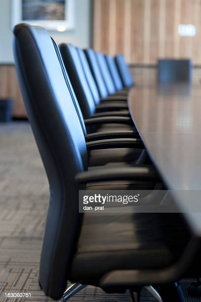 Board Room Row of Chairs