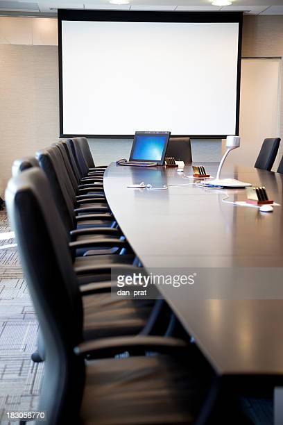 Board Room with Computer