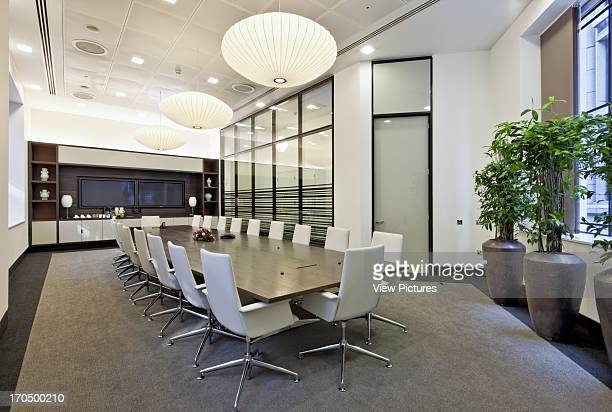 Board room with video conferencing Major Chinese Bank Bank Europe United Kingdom TP Bennett