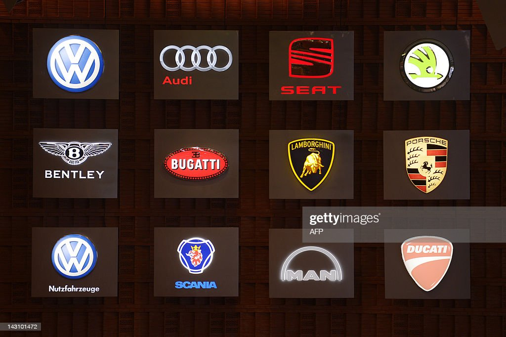 A Board Showing The Logos Of Car Brands Pictures Getty Images