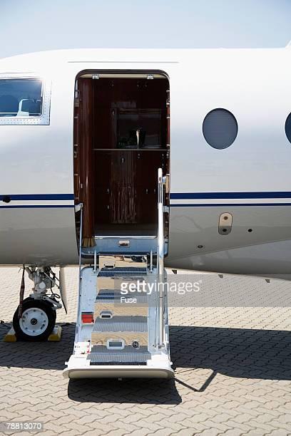 Boarding Entrance of Private Jet