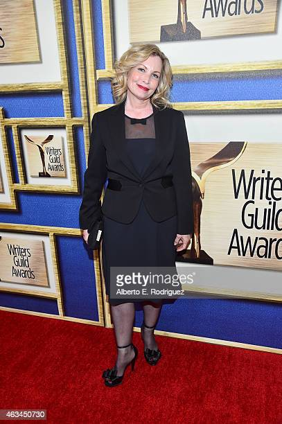 Boardmember Katherine Fugate attends the 2015 Writers Guild Awards L.A. Ceremony at the Hyatt Regency Century Plaza on February 14, 2015 in Century...