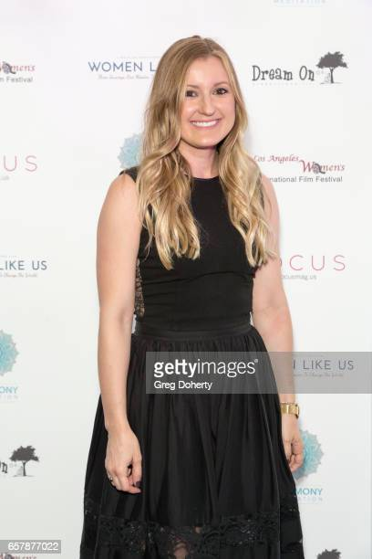 Boardmember Kristin Brinkley attends the Premiere Of Pure Flix Entertainment's 'Women Like Us' at Regal 14 at LA Live Downtown on March 25 2017 in...