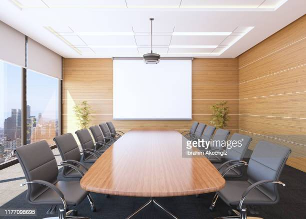 boardroom interior - board room stock pictures, royalty-free photos & images