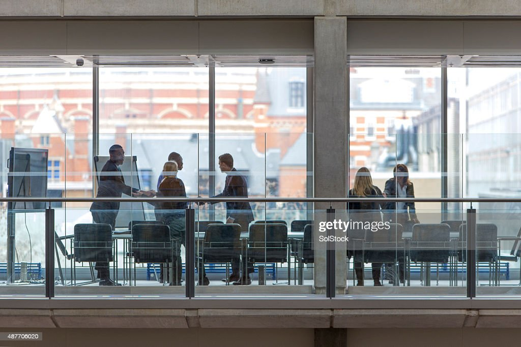 Boardroom Meeting : Stock Photo