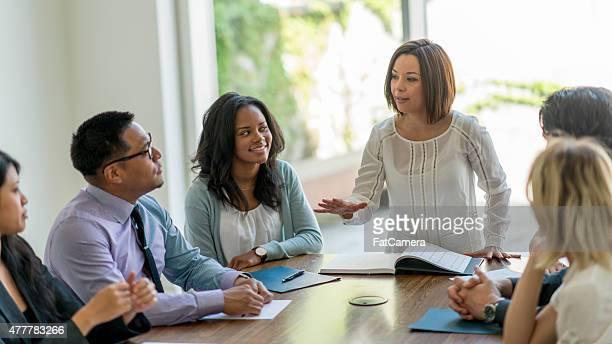 Boardroom Team Meeting