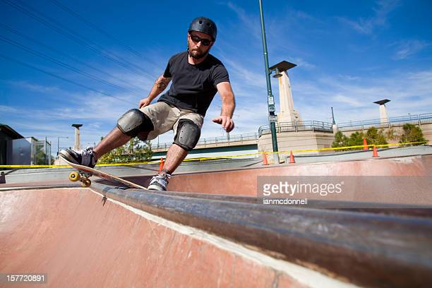 boardslide - padding stock photos and pictures