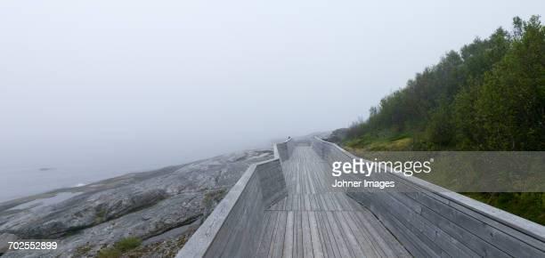 Boardwalk at sea