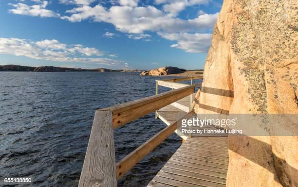 Boardwalk in Veddö Naturreservat