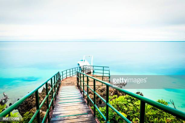 Boardwalk to the sea