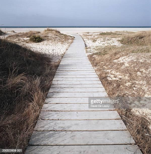 Boardwalk towards beach