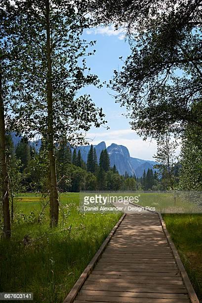 Boardwalk, Yosemite Valley, Yosemite National Park