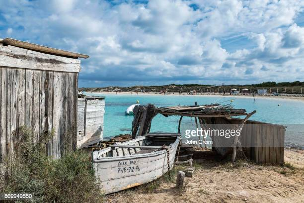 Boat and boat shed Playa des ses Illetes