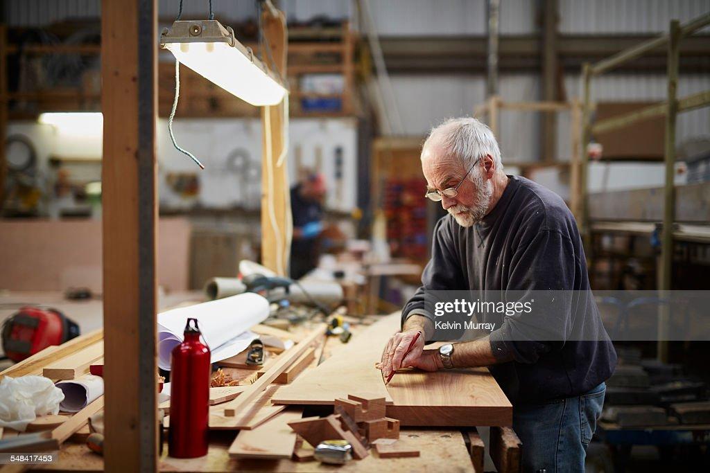 Boat Building Craftsmen : Stock Photo