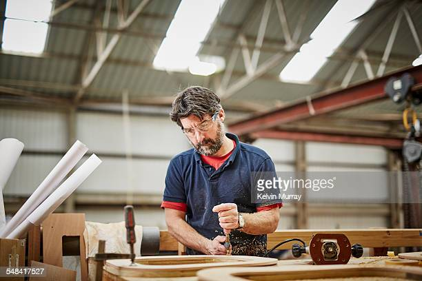 boat building craftsmen - cutting stock pictures, royalty-free photos & images