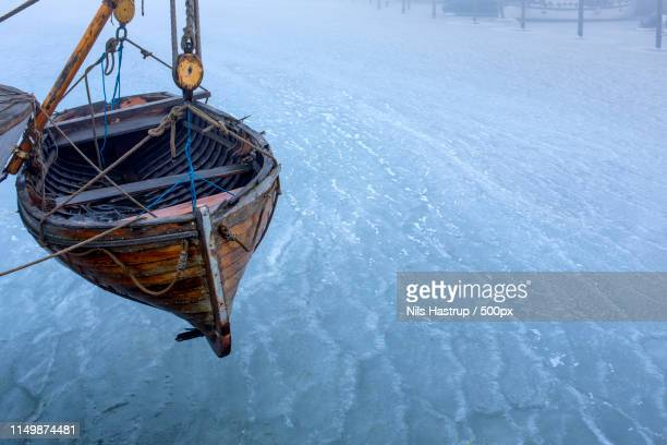 boat copenhagen harbor - lifeboat stock pictures, royalty-free photos & images