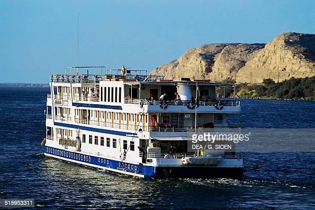 Boat cruise on the Nile, Kom Ombo, Egypt.