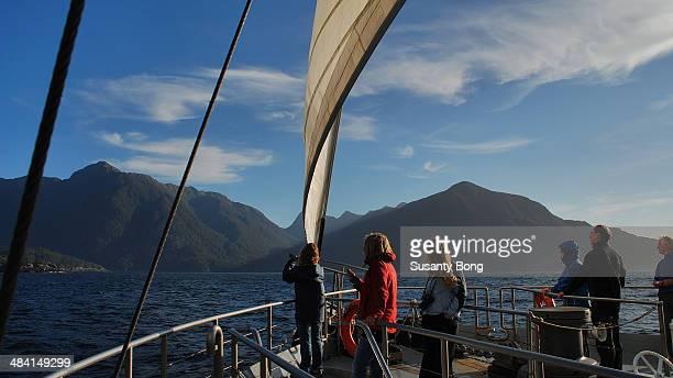Boat cruise to Doubtful sound