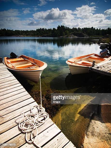 Boat Dock on Ocean