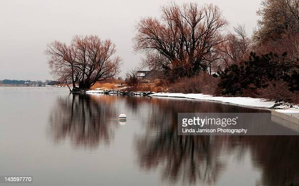 boat dock - idaho falls stock pictures, royalty-free photos & images