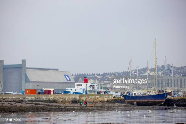 Boat docked in Torpoint near to the site of the Devonport freeport in Plymouth, U.K., on Thursday, March 4, 2021. U.K. Chancellor Rishi Sunak...