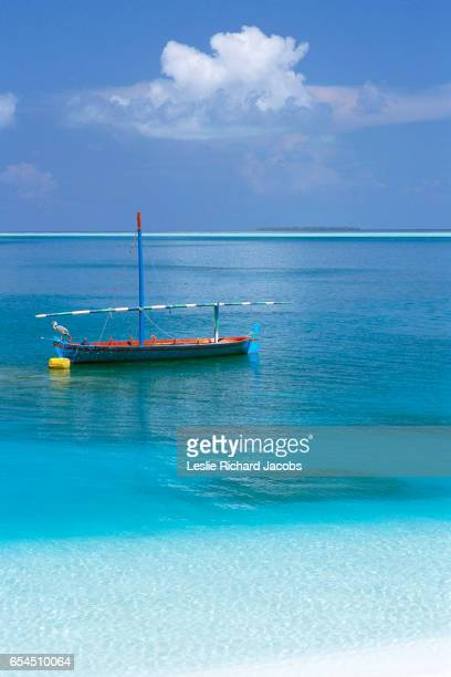 Boat Floating off Shore