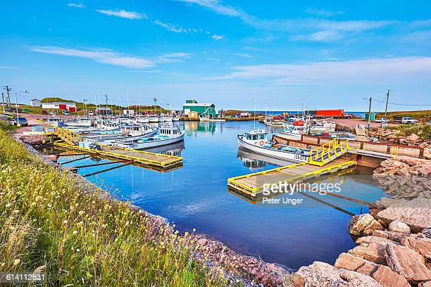 Boat harbour at SeaCow Pond,Prince Edward Island