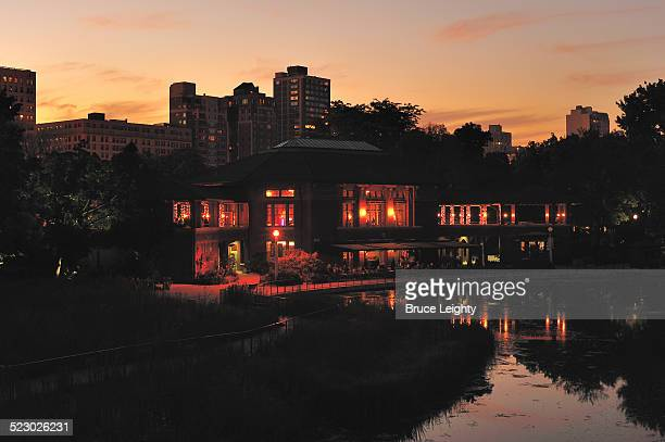 Boat House Reflection
