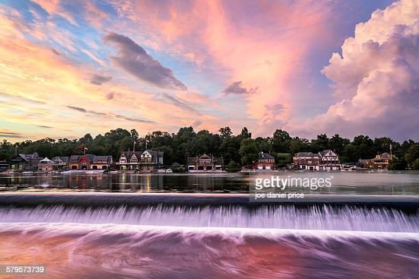 Boat Houses, Philadelphia, Pennsylvania, America