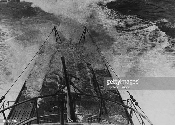 Boat In Full Speed On February 29Th 1944