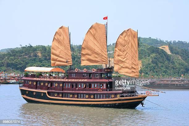 Boat in Halong Bay