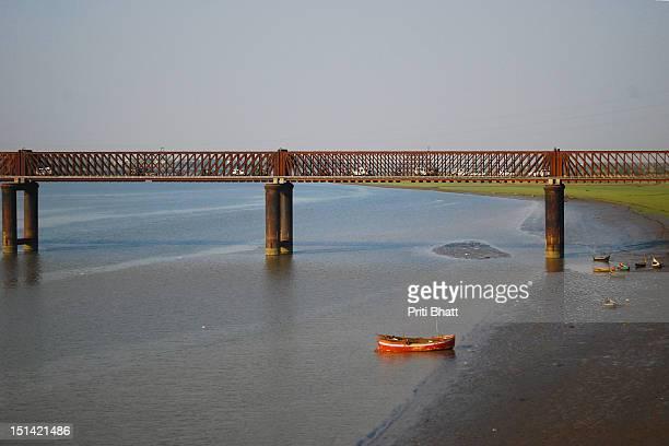 Boat in Narmada river