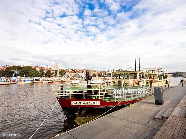 Boat in Szczecin, Poland