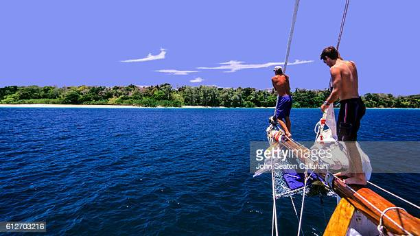 Boat in the Andaman Islands