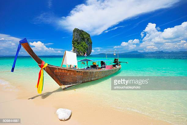 Boat in the south of Thailand sea