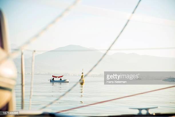 Boat in water, Turkey