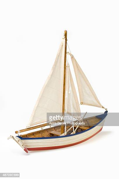 Boat model on a white background