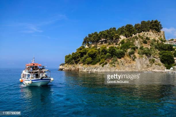 Bateau sur la côte ionienne
