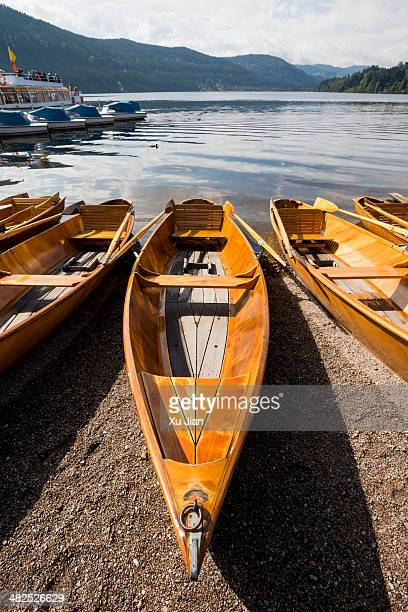 Boat rental at Lake Titisee
