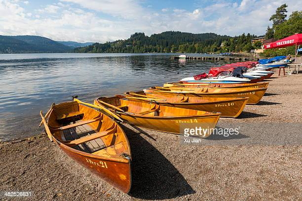 Boat rental at Lake Titisee