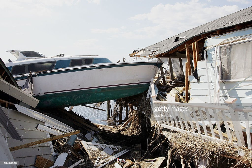 Recovery Efforts Continue In Aftermath Of Hurricane Katrina : News Photo