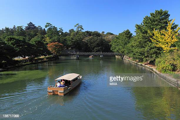 Boat Ride at Hori River, Matsue, Shimane, Japan