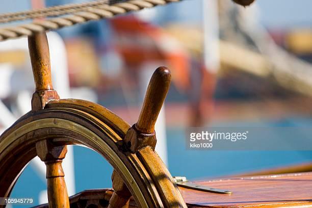 Barca timone