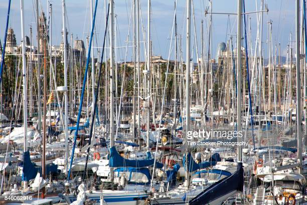 Boat Sales and Masts in Barcelona, Spain