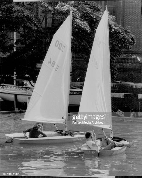 Boat Show OpensThe 1978 Sydney International Boat Show officially opened at the Sydney Showground todayGordon Blow of Paddington lazes in a 3 metre...
