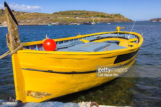 CONTENT] A boat that Dalí used with his wife Gala for walks along the beach of Portlligat in Gerona Spain 2010