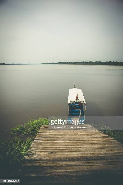 Boat, the Mode of Transport in the Amazon Region