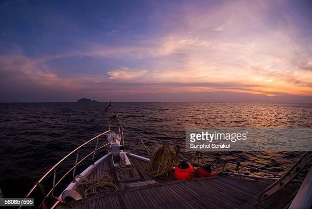 Boat to Tachai Island