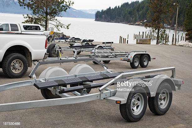 Boat Trailers with Trucks